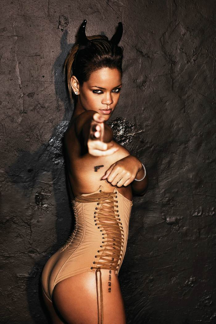Rihanna Rated R photoshoot by