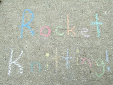 Rocket Knitting