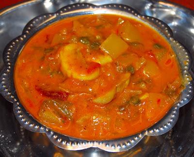 Methi Mushroom Curry