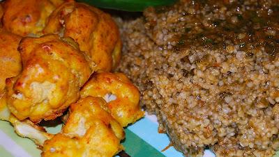 Baked Cauliflower Bhujia