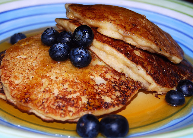 Lemon Pancakes, vegan