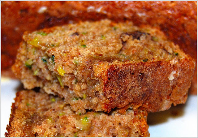 Whole-Wheat Zucchini Bread recipe