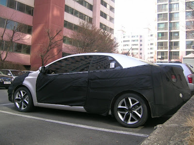 Spy Shots: 2010 Kia Forte Coupe in South Korea