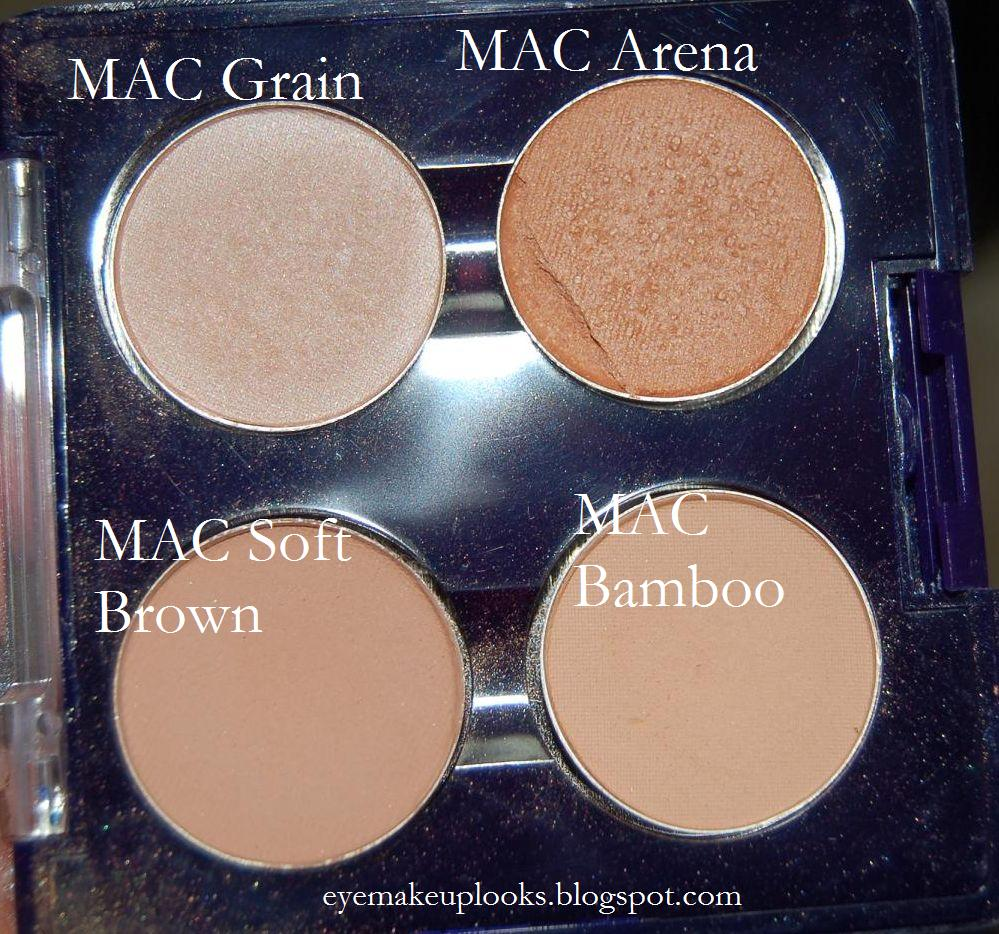 MAC eyeshadow: Arena. Looks perfect on the lid. Really makes your ...
