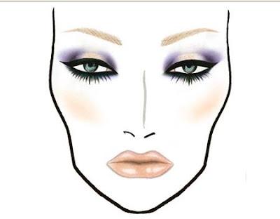 Blank Mac Face Charts Download Blank Makeup Face Charts Face