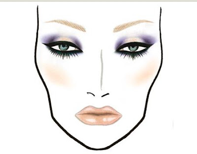 Blank Makeup Face Charts. face charts mac makeup face