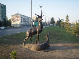 памятник Оленям