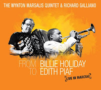 The Wynton Marsalis Quintet & Richard Galliano: From Billie Holiday to Edith Piaf: Live in Marciac (2010)