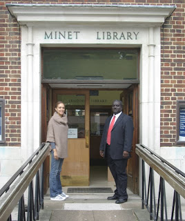 The Minet Library in Camberwell on Vassallview.com