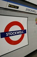 Stockwell station sign
