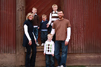 Jeff, Wendy, Carter, Carson, Ammon & Nathan