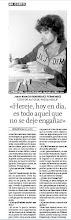 ENTREVISTA PARA EL PERIÓDICO 'EL COMERCIO'