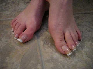 pedicure tip round your toenails modern wife life