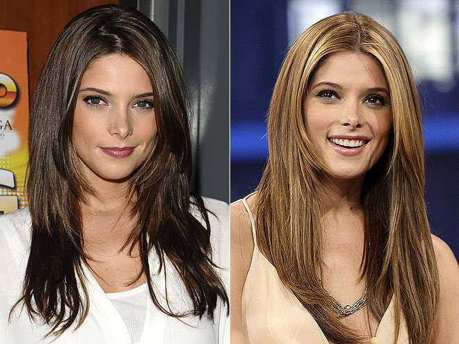 Celebrity Hair Drama Before After Emma Watson Kim Kardashian