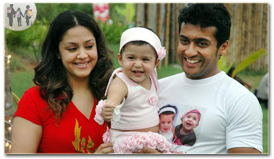 Surya Jyothika's Daughter Diya Birthday