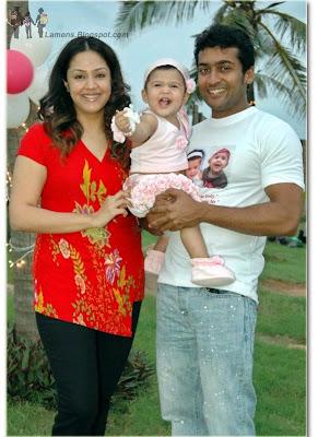Surya Jyothika's Daughter Diya Birthday