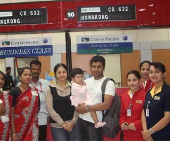 surya jyothika family child images hongkong tour