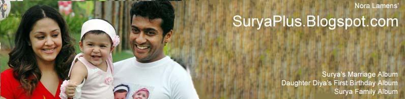 Surya Jyothika Family album