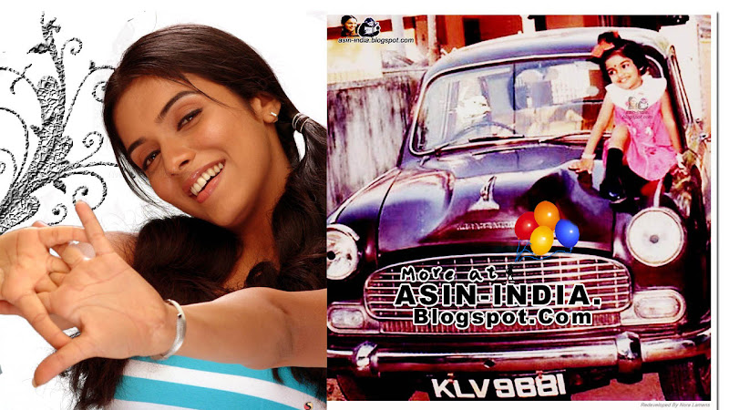 asin in her first car