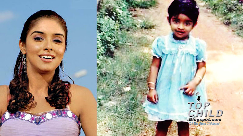 asin in her kg class days, standing the streets of her house
