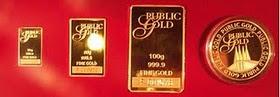Gold Bars  999 ( FINE GOLD )