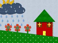 http://taintedscraps.blogspot.com/2009/08/rain-rain-go-away-wallpaper.html