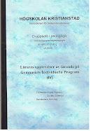 D-uppsats (61-80 P) 10P