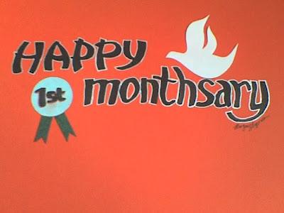 1st Blog MonthsaryJune 30 2007