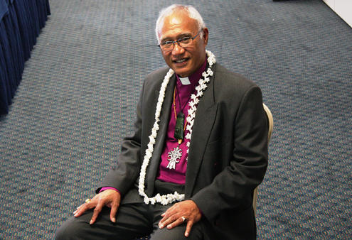 Bishop winston halapua was elected by general synod to be the bishop