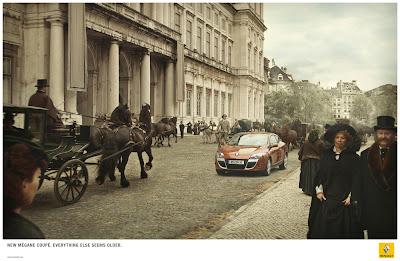 Publicité Renault : quand la Megane coupée donne un coup de vieux à tout le reste