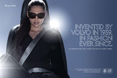 Publicité Volvo : à la pointe de la mode, et de la sécurité