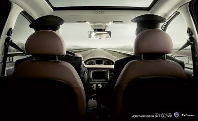 Publicité Lancia Musa : une autonomie étonnante