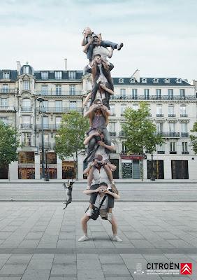 Publicité Citroën : ouverture du show-room de 8 étages à Paris