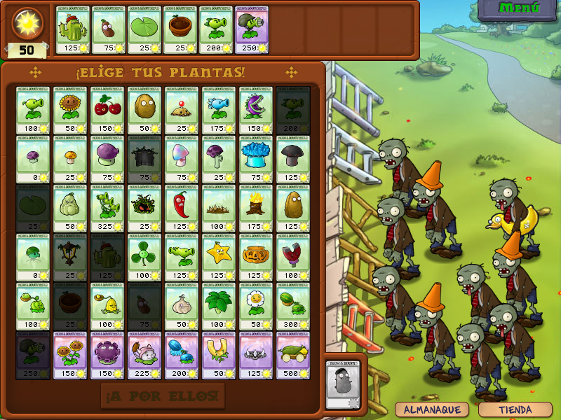 Plantas Vs. Zombies [Juego PC]