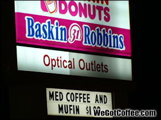 Funny Dunkin Donuts Spelling Error on Sign - Coffee Photo Blog
