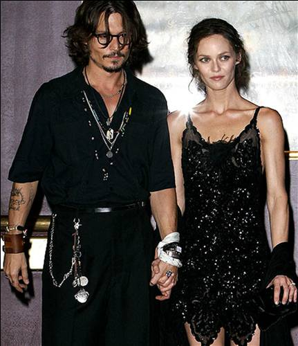 johnny depp vanessa kids. johnny depp and vanessa