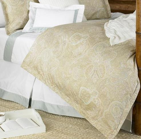 Ralph Lauren Coral Beach Paisley Comforter Top Quality