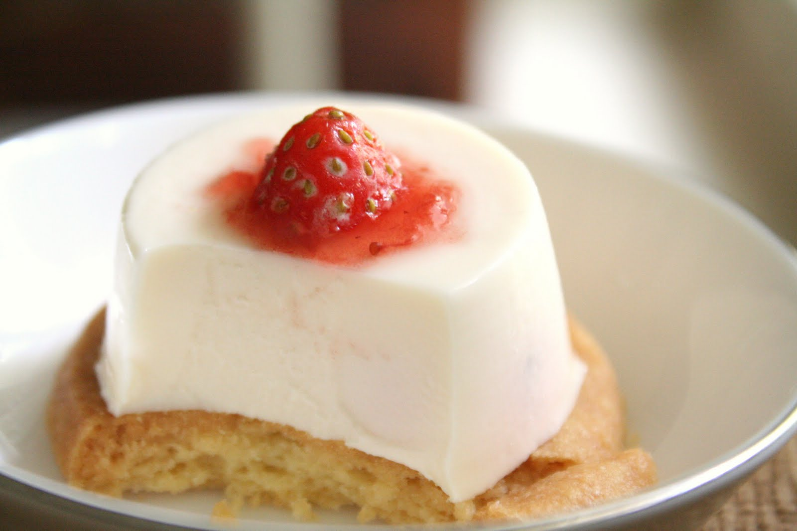 Butterism: Strawberry Panna Cotta