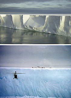 Iceberg B-15, Antartika