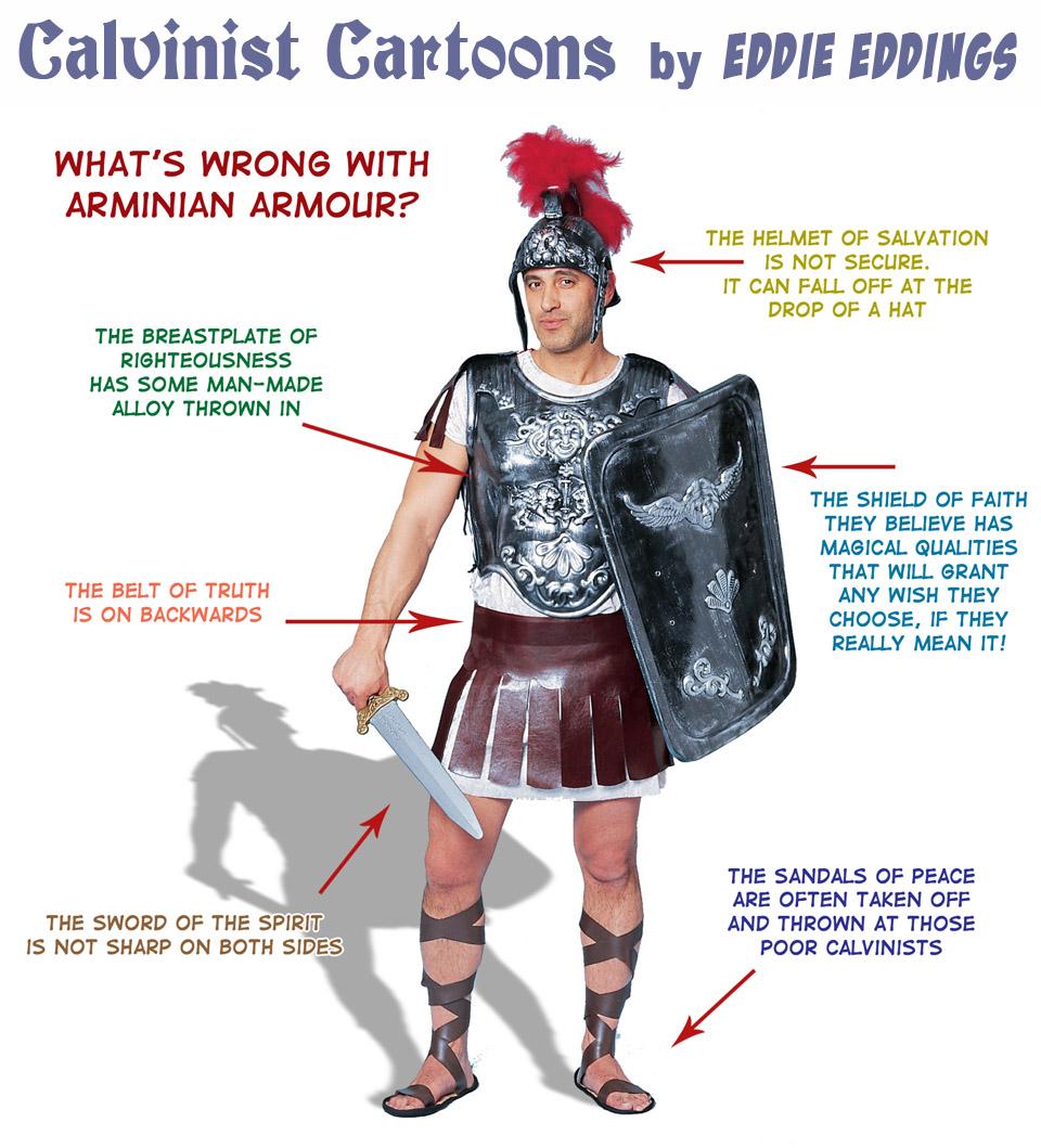 calvinistic cartoons replacement needed Ephesians Armor of God Diagram Ephesians Armor of God Diagram