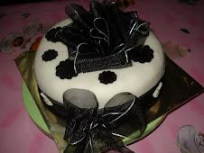 Tempahan kek fondant 2 kilo RM180
