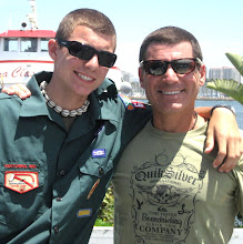 Dad and Connor Summer 2008