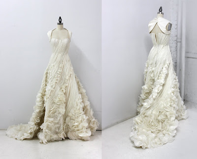 I finally finished two wedding dresses I had been working on for nearly a