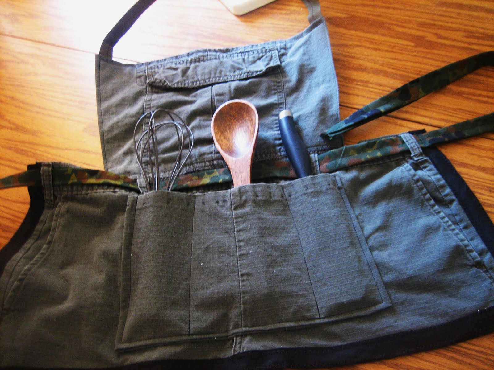 Blue apron how to recycle - Recycled Cub Scout Pant Aprons For Boys Part 2 Of The Recycled Pant Apron Series