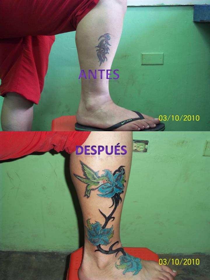 foto tatuaje pierna. Tatuaje Pierna. Publicado por Asdrúbal Enrique Urdaneta Berrios/ Junior en