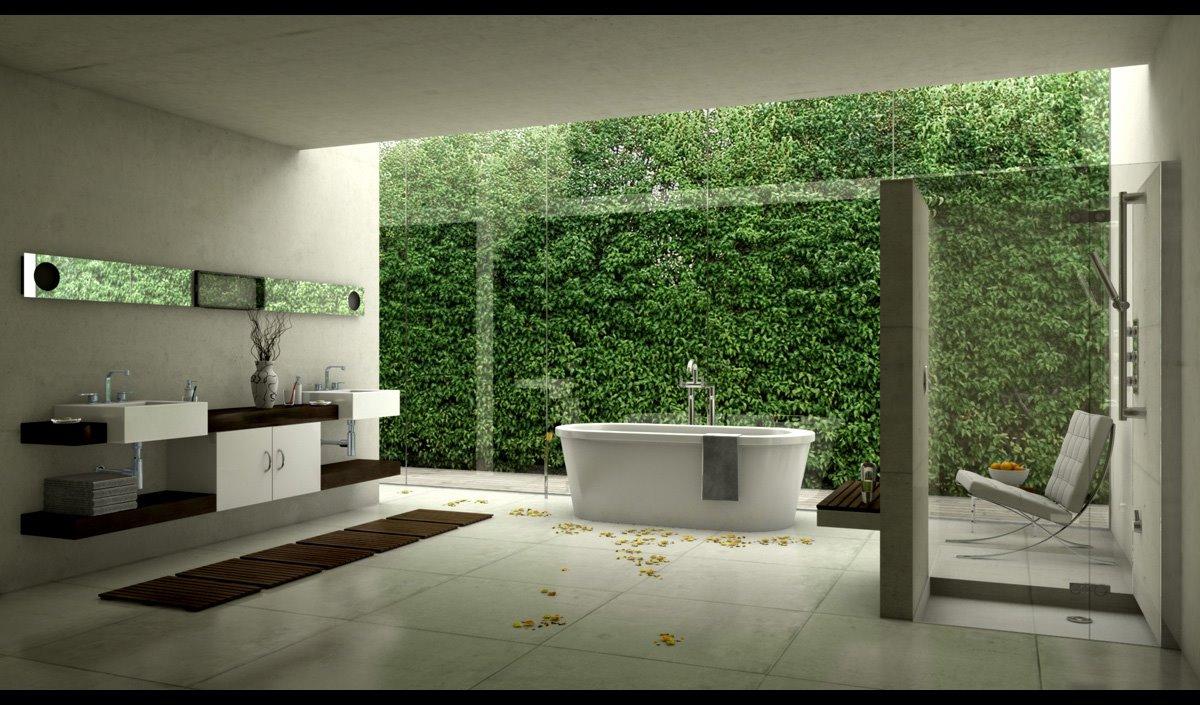 классический ремонт в ванной комнате