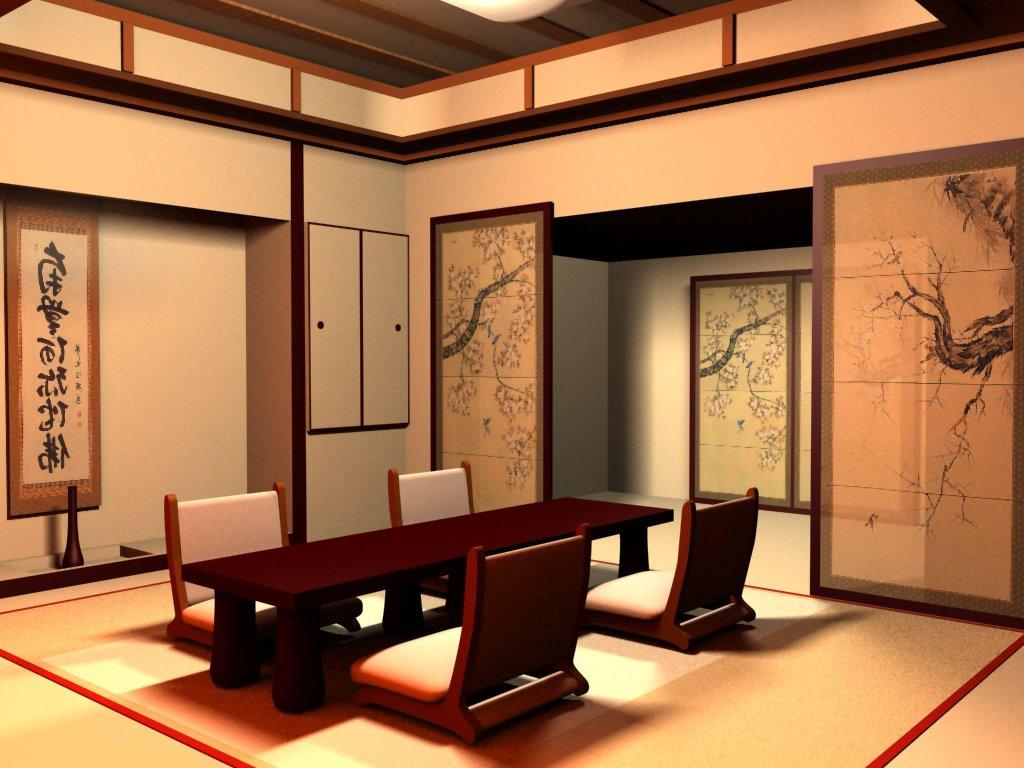 japanese interior by chrispallaris and Julia Jaquin, Miss Teen Idaho Intl. 2011