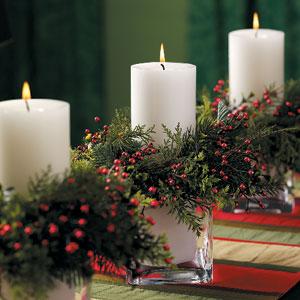 Steller Kitchen Holiday Centerpieces
