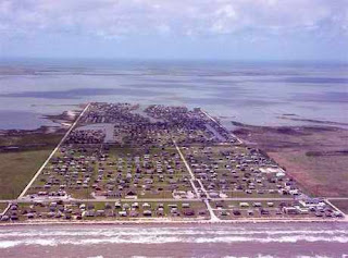 Jamaica Beach, Texas before Hurricane Ike