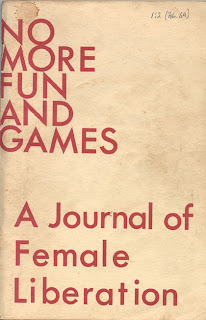No More Fun and Games, women's publication cover from 1972